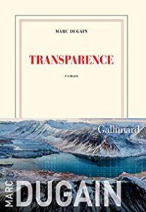 """Couverture du livre """"Transparence"""""""